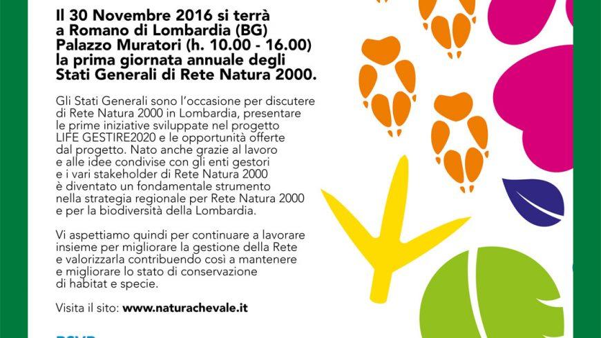 Save the date! 1° incontro degli Stati generali di Rete Natura 2000