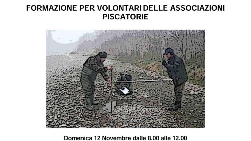 Incontro di formazione su monitoraggio nidi di trota marmorata – Ponte San Pietro (BG)