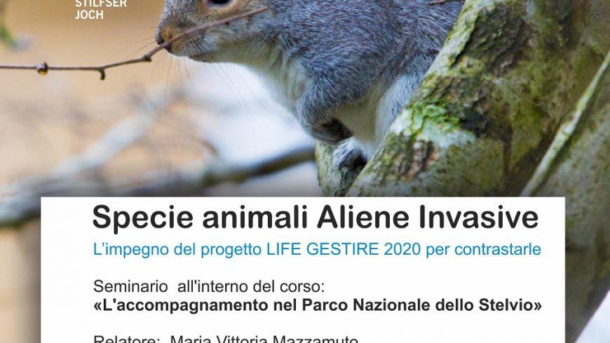 Seminario su specie animali aliene invasive – Parco Nazionale dello Stelvio