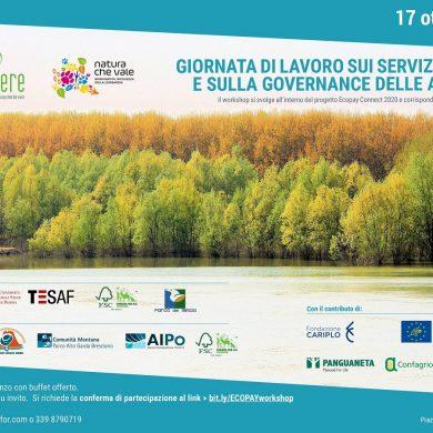 Workshop su servizi ecosistemici e governance delle aree protette il 17 ottobre a Mantova