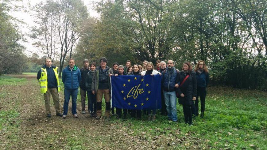 Commissione europea visita il progetto Life Gestire 2020