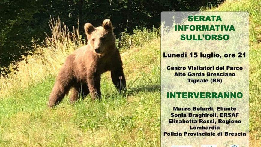 Serata informativa sull'orso – Tignale (BS)