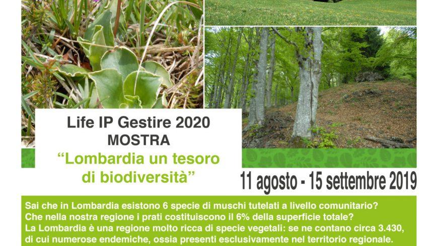 """Apertura mostra """"Lombardia un tesoro di biodiversità"""" – Prabione di Tignale (BS)"""