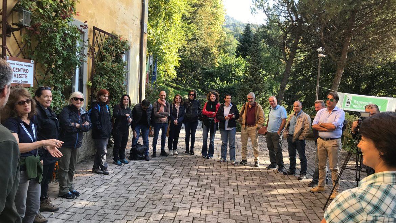 Ministero Ambiente e regioni Abruzzo, Lazio, Molise e Sardegna visitano progetto Life Gestire 2020