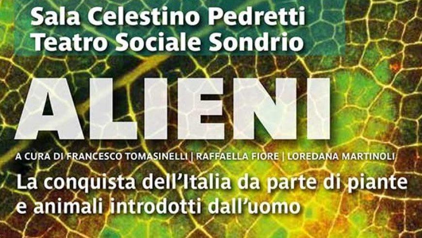 """Mostra scientifica """"Alieni: la conquista dell'Italia di piante e animali introdotti dall'uomo"""" al Sondrio Film Festival 2019"""
