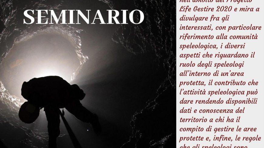 Speleologia in aree protette: vincoli e valorizzazione – Barzio (LC)